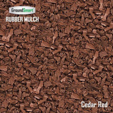 groundsmart rubber mulch supersack  cu ft walmartcom
