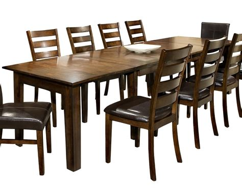 Intercon Kona Dining Table With Three 22inch Leaves