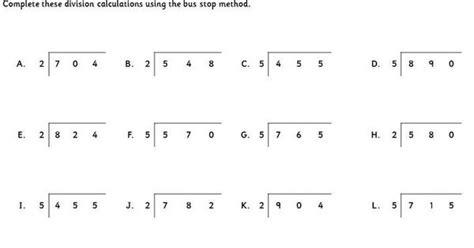 division worksheets 187 division worksheets ks2 stop