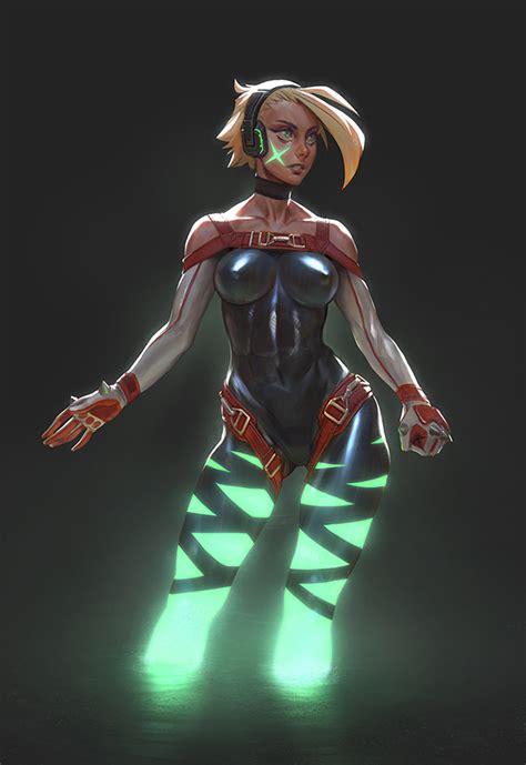 Xbox One Girl Illustration By Moonlightorange On Deviantart