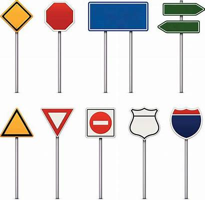 Signs Road Vector Sign Traffic Street Clip