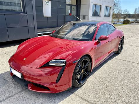CARMINE RED Taycan Club   Page 4   Porsche Taycan Forum ...