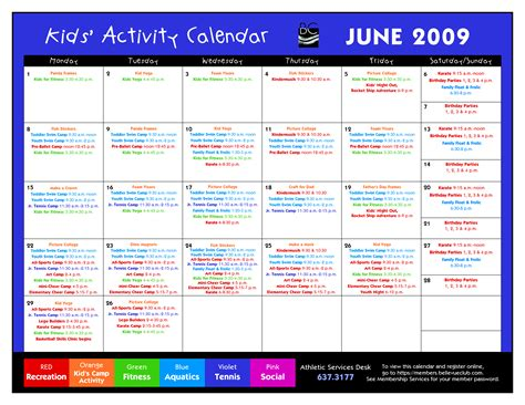 activity calendar template 14 blank activity calendar template images printable blank calendar template printable blank