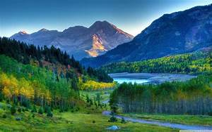 Beautiful autumn mountain landscape HD Desktop Wallpaper ...