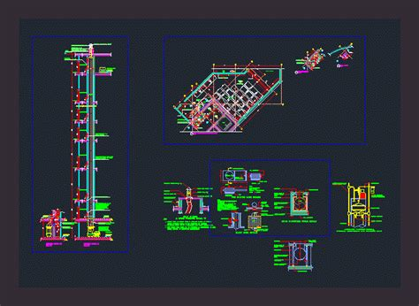 garbage room deatils dwg full project  autocad