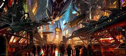 Wars Entertainment Coruscant Concept 1313 Wallpapers Underworld
