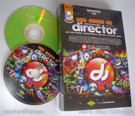 buku adobe director multimedia interaktif game