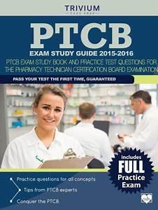 Ptcb Exam Study Guide 2015