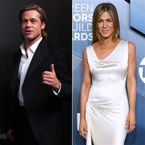 Jennifer aniston, 52, and brad pitt, 57, are one of hollywood's most iconic couples. Brad Pitt, Jennifer Aniston 'Did Not Cross Paths' at SAG Party