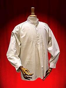 Chemise Sans Col Homme : chemise homme hongroise theatrhall paris achat vente ~ Louise-bijoux.com Idées de Décoration