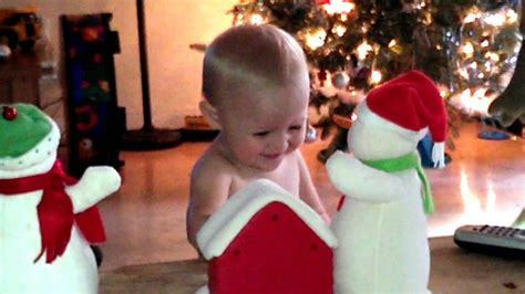 Baby shae dancing to christmas song deck the halls - YouTube