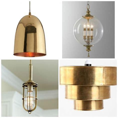 indoor lighting  brass pendant stylish style kitchen
