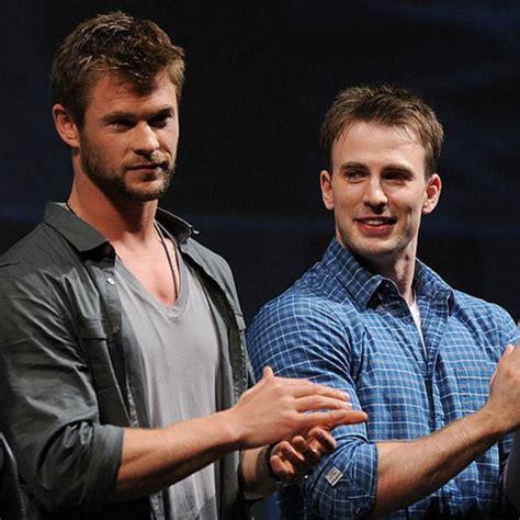 Avengers: Endgame actors Chris Hemsworth & Chris Evans ...