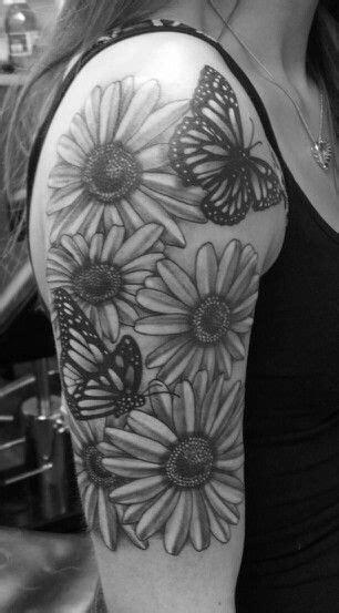Flower and butterfly half sleeve :)   Half sleeve tattoos