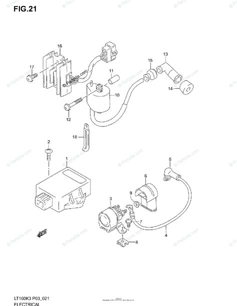 Suzuki Atv Oem Parts Diagram For Electrical