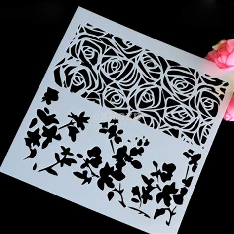 tool wall template various layering stencil drawing reusable template diy