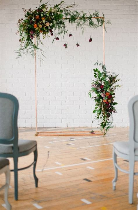 Lovely Diy Copper Pipe Arch Joanne Truby Floral Design