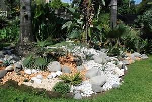 71 idees et astuces pour creer votre propre jardin de rocaille With beautiful jardin et piscine design 3 creer un jardin avec des cactus et des palmiers