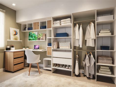 Closet E Home Office Integrados  Leroy Merlin