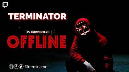 Twitch Banner Offline Dark Maker Mediamodifier Templates