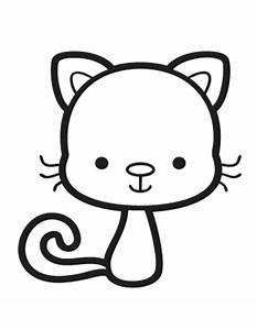 Babybilder Zum Ausmalen : kostenlose malvorlage tiere comic katze zum ausmalen ~ Markanthonyermac.com Haus und Dekorationen