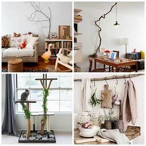Branche De Bois Deco : branche de bois d co naturelle dans l 39 esprit du temps ~ Teatrodelosmanantiales.com Idées de Décoration
