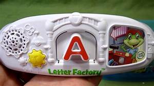 letter factory phonics toy from leapfrog youtube With leapfrog letter factory phonics toy