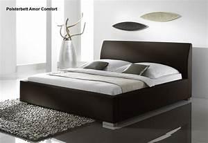 Bett 200x200 Günstig : supply24 lederbett polsterbett amor leder bett braun ~ Watch28wear.com Haus und Dekorationen
