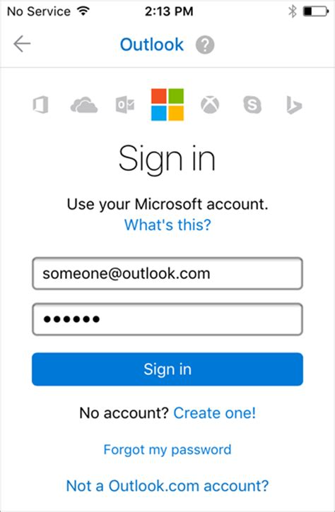 set up email on iphone email sign in outlook