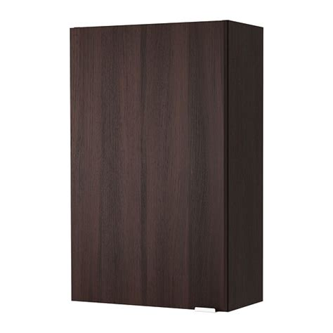 bathroom wall cabinets ikea lillången wall cabinet black brown ikea