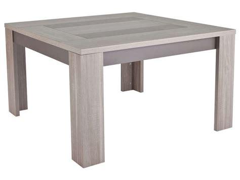 table carree 140x140 avec rallonges vintage set square