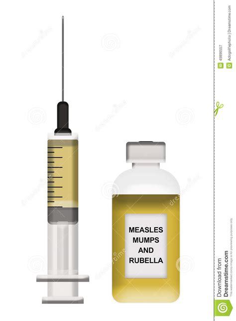 Measles Mumps And Ruballa Vaccination Stock Illustration ...