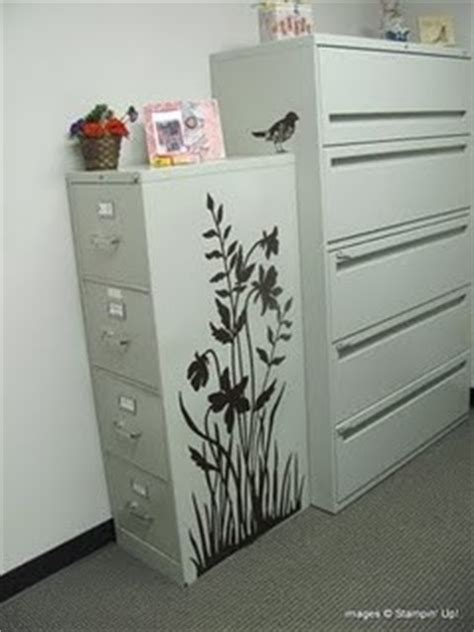 how to dress up a metal file cabinet 17 best images about filing cabinet on pinterest