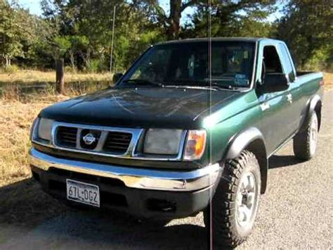 nissan 2000 4x4 nissan frontier v6 4x4 modelo 2000 youtube