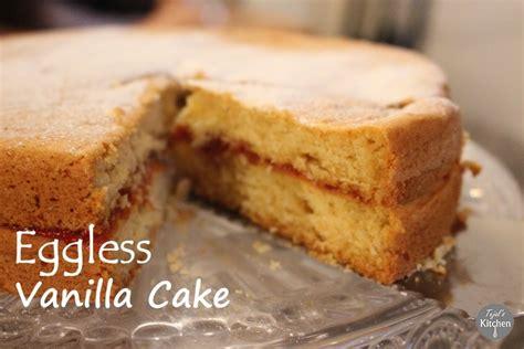Eggless Vanilla Cake  Tejal's Kitchen