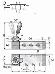 3 Position 5 Way Manual Directional Control Valve Hand