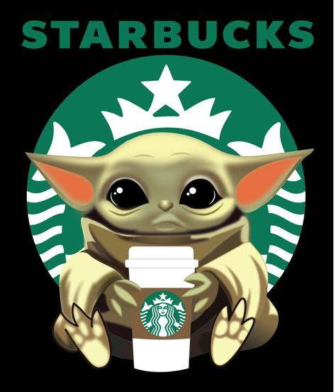 Fill in the form below to get instant access to these two files and all the other free files in my craft library… Baby Yoda Starbucks, coffe life, Starbucks. Jedi, Star ...