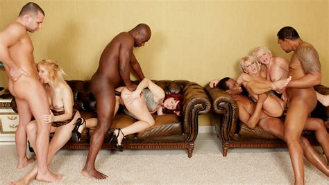 Interracial Anal Orgy On Mature Women Nice Porno