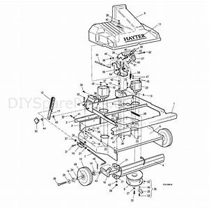 Hayter Condor  212s  Parts Diagram  Rotary Attachment 1
