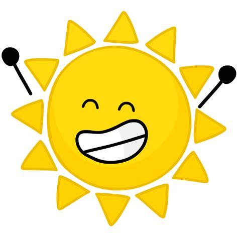 BFDI Sun Body | Mungfali