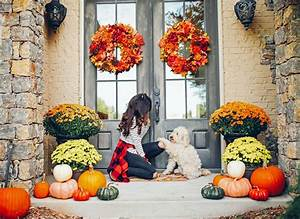 Our, Fall, Front, Porch, Decor, The, Sweetest, Thing, Throughout, Size, 1600, X, 1166