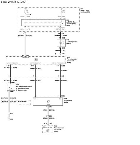 2003 Focu Wiring Schematic by The Air Con On My Ford Focus 1 6 Comes On When I Switch