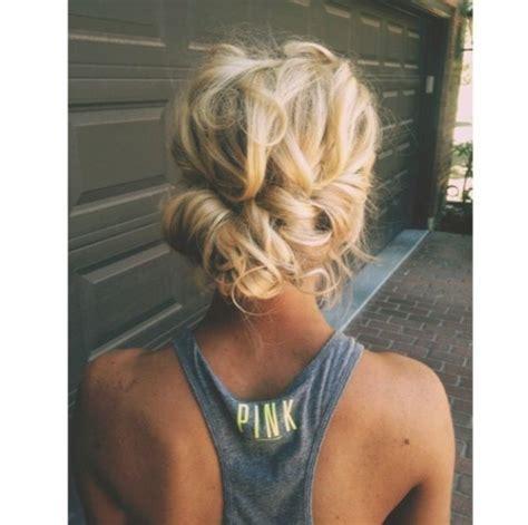 blonde prom hair ideas  pinterest homecoming