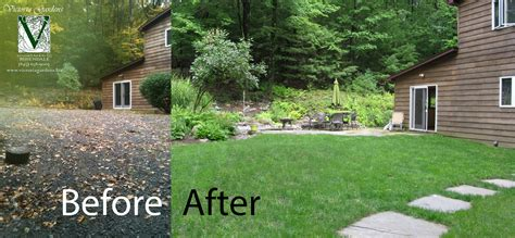 backyard before and after top 28 before after photos of landscaping garden