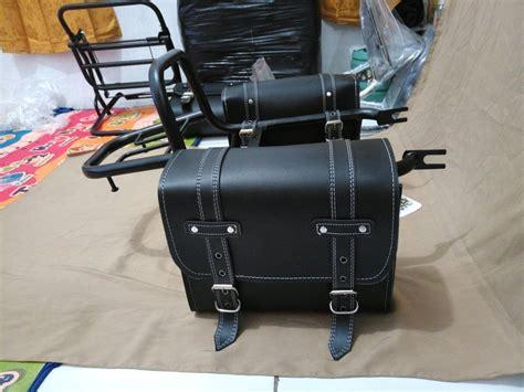 Kawasaki W175 Side Bag by Jual Back Rack Kawasaki W175 Plus Tas Side Bag Kanan Kiri