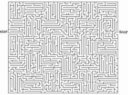 Puzzles Printable Mazes Adults Maze Hard Games