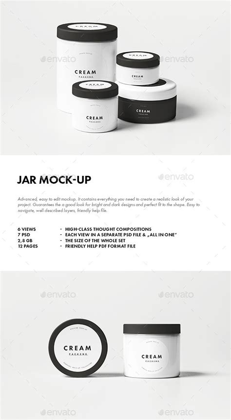 We have an unbelievable collection of free customizable. 20+ Best Jar Mockup PSD - Free & Premium Download - PSD ...