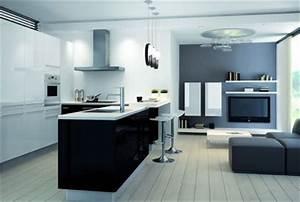 Modele De Cuisine Cuisinella : cuisinella les 6 cuisines pratiques chic et abordables ~ Premium-room.com Idées de Décoration