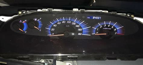 manual repair autos 1993 toyota previa instrument cluster 2000 to 2006 toyota estima previa speedometer clock instrument cluster in rochdale