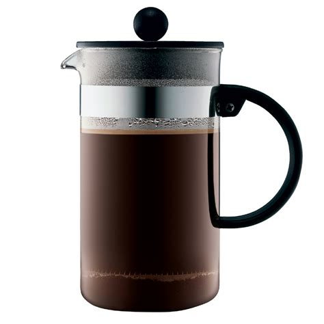 Filter roast coffee beans designed for all filter brewing, best suit slower extraction methods. Bodum Bistro Nouveau Coffee Plunger 8 cup   Briscoes NZ